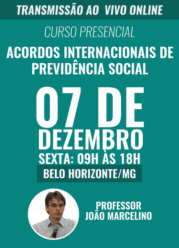 PRESENCIAL - 07/12/2018 - BELO HORIZONTE / MG