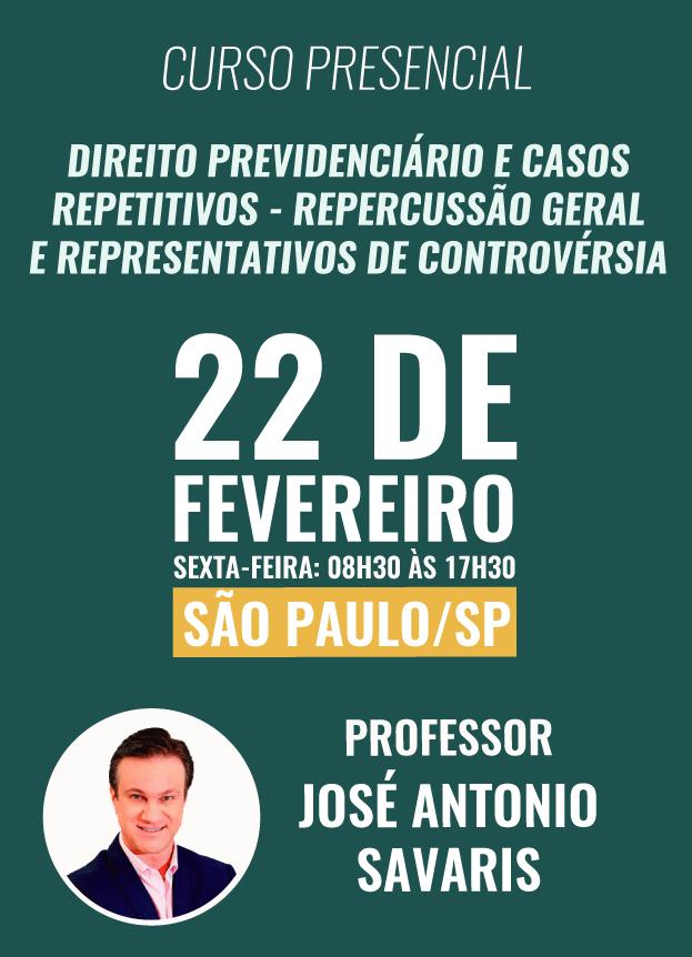 PRESENCIAL 2019 - 22/02/2019 - SÃO PAULO/SP
