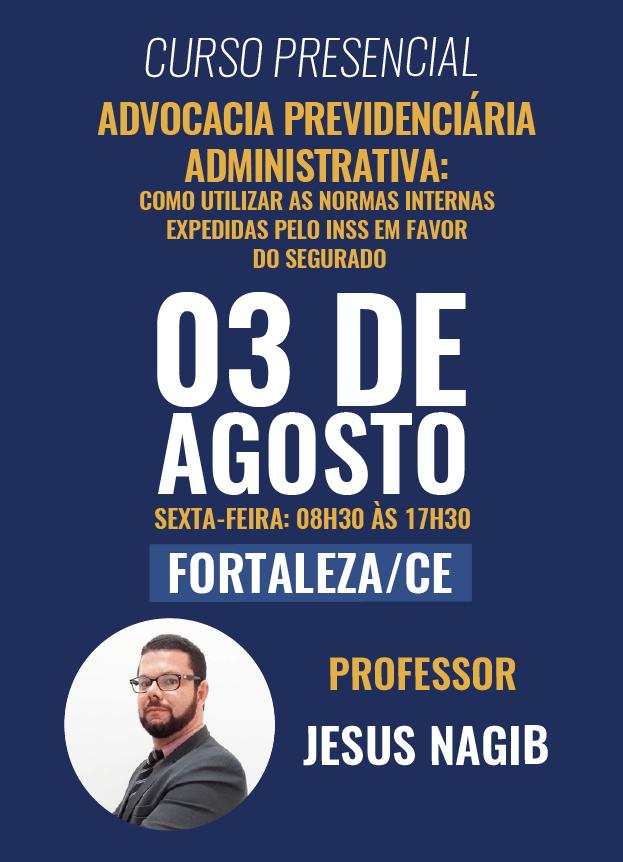 PRESENCIAL - 03/08/2018 - FORTALEZA/CE