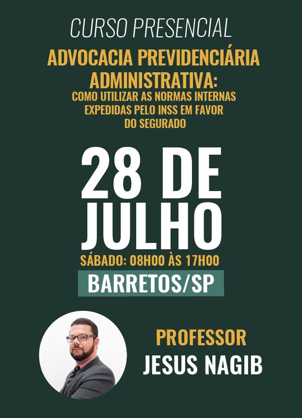 PRESENCIAL - 28/07/2018 - BARRETOS/SP