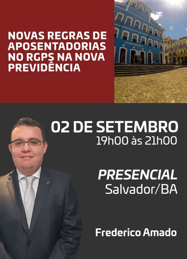 2019 - PRESENCIAL - 02/09/2019 - SALVADOR/BA