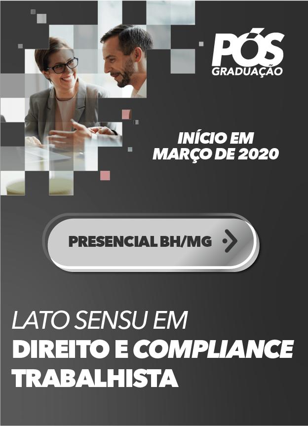 2020.1 - PRESENCIAL BH/MG - DIREITO E COMPLIANCE TRABALHISTA