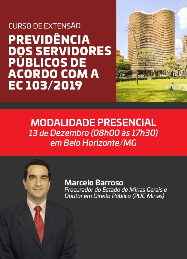 2019 - PRESENCIAL - 13/12/2019 - BELO HORIZONTE/MG - MARCELO BARROSO