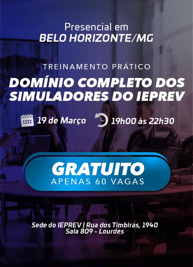 2020 - PRESENCIAL - 19/03/2020 - BELO HORIZONTE/MG