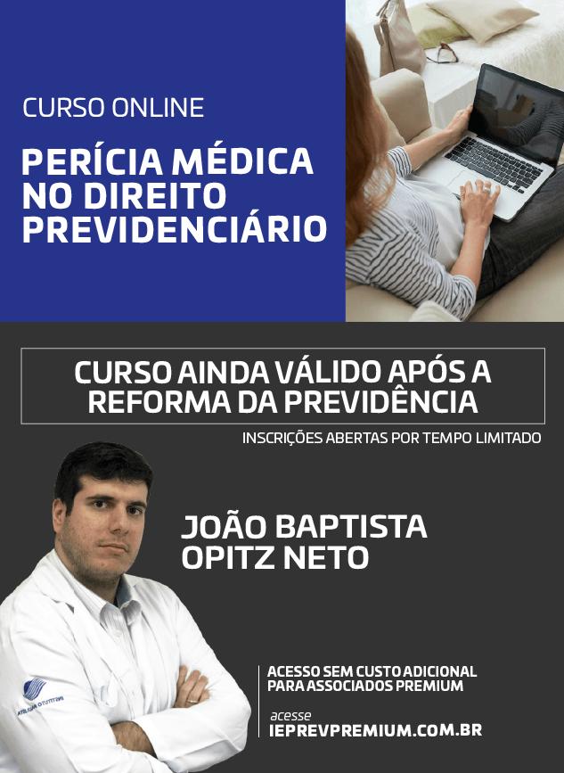 ONLINE PERÍCIA MÉDICA NO DIREITO PREVIDENCIÁRIO