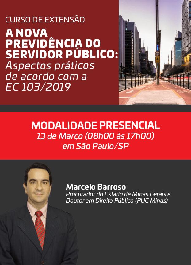 2020 - PRESENCIAL - 13/03/2020 - SÃO PAULO/SP