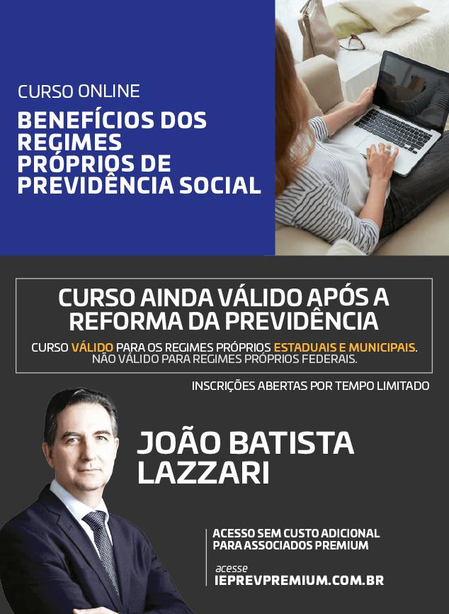 ONLINE Benefícios dos Regimes Próprios de Previdência Social