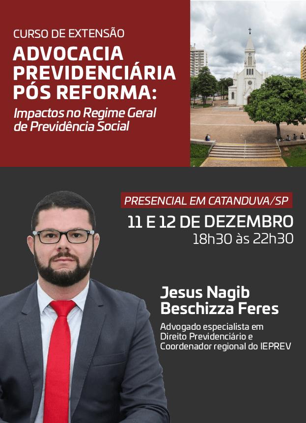 2019 - PRESENCIAL - 11 e 12/12/2019 - CATANDUVA/SP