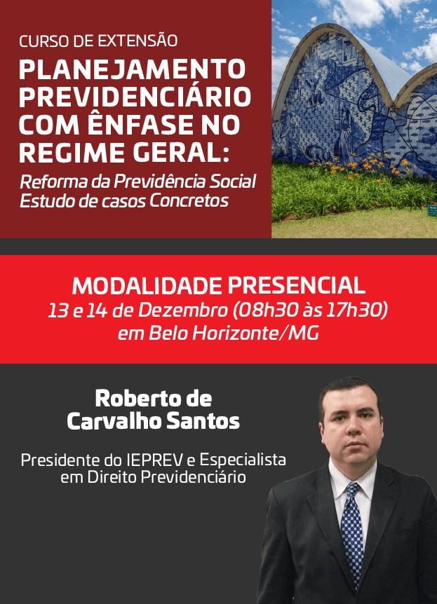 2019 - PRESENCIAL - 13 e 14/12/2019 - BELO HORIZONTE/MG