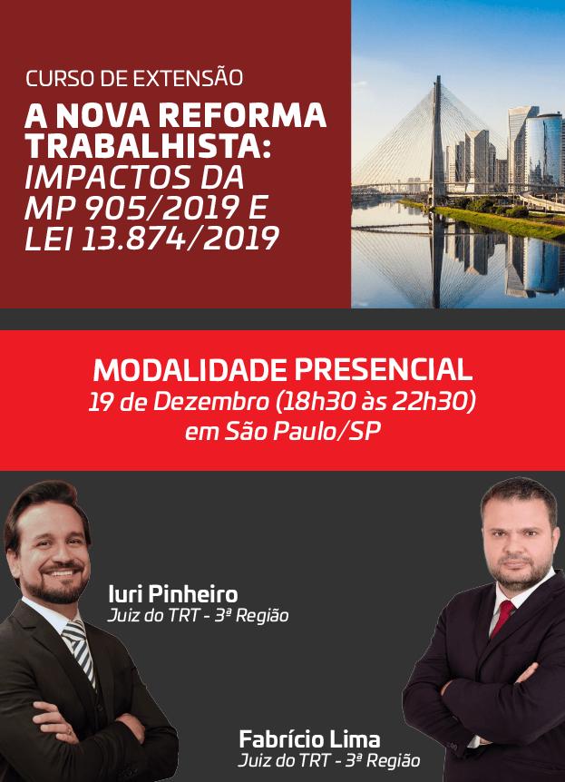 2019 - PRESENCIAL - 19/12/2019 - SÃO PAULO/SP