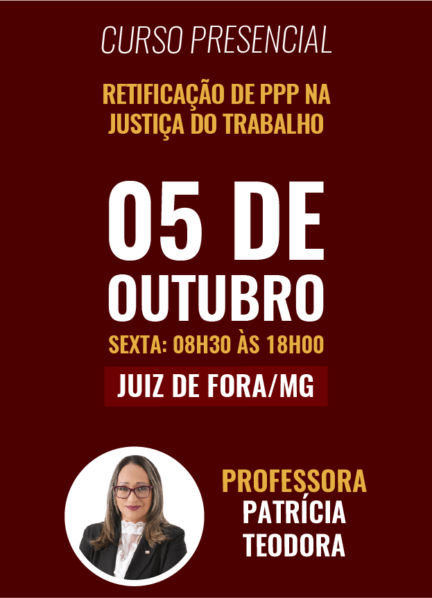 PRESENCIAL - 05/10/2018 - JUIZ DE FORA/MG