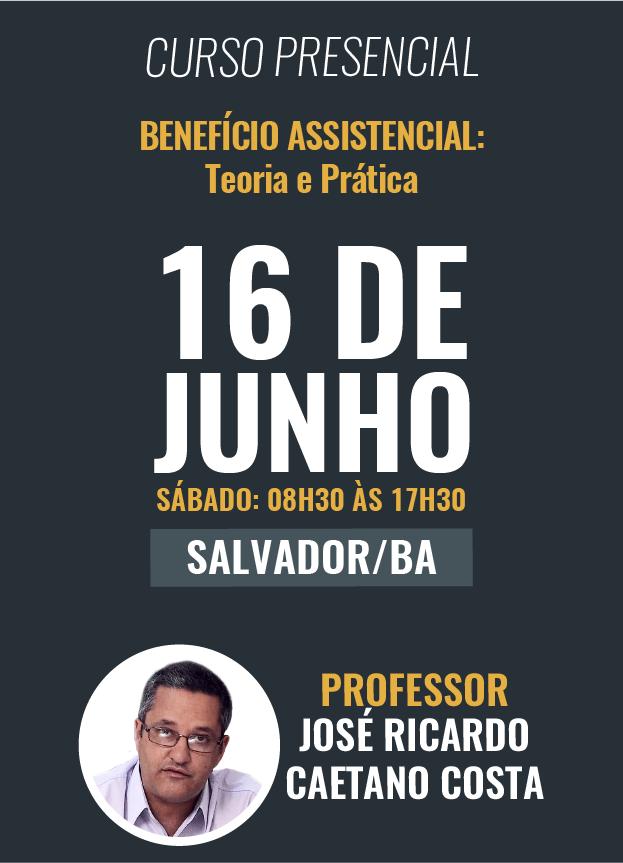PRESENCIAL - 16/06/18 -SALVADOR/BA