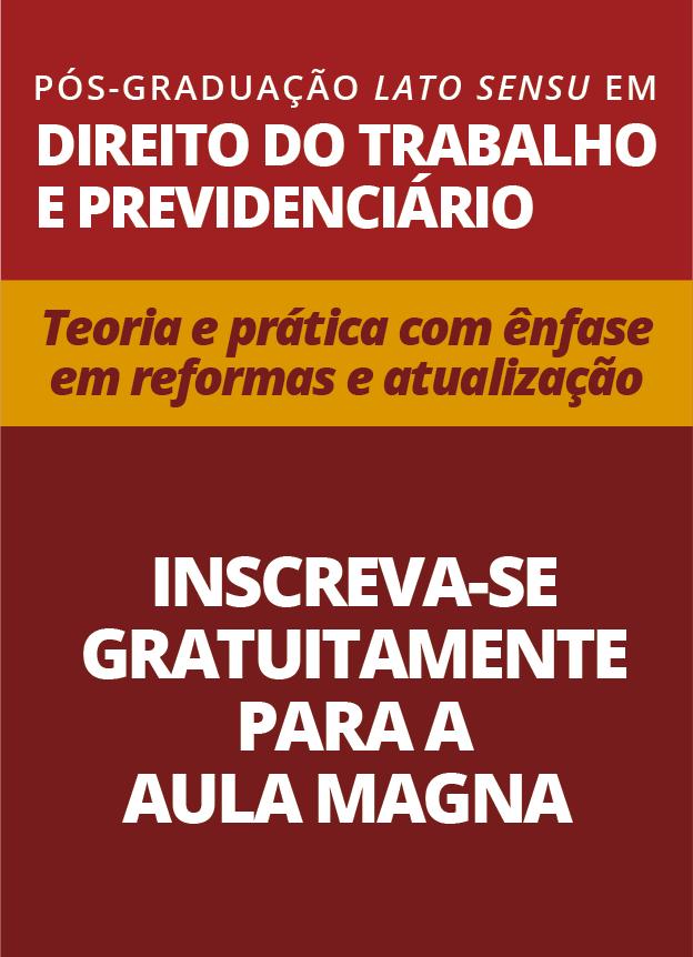 PRESENCIAL - 03/09/18 - AULA MAGNA PÓS-GRADUAÇÃO