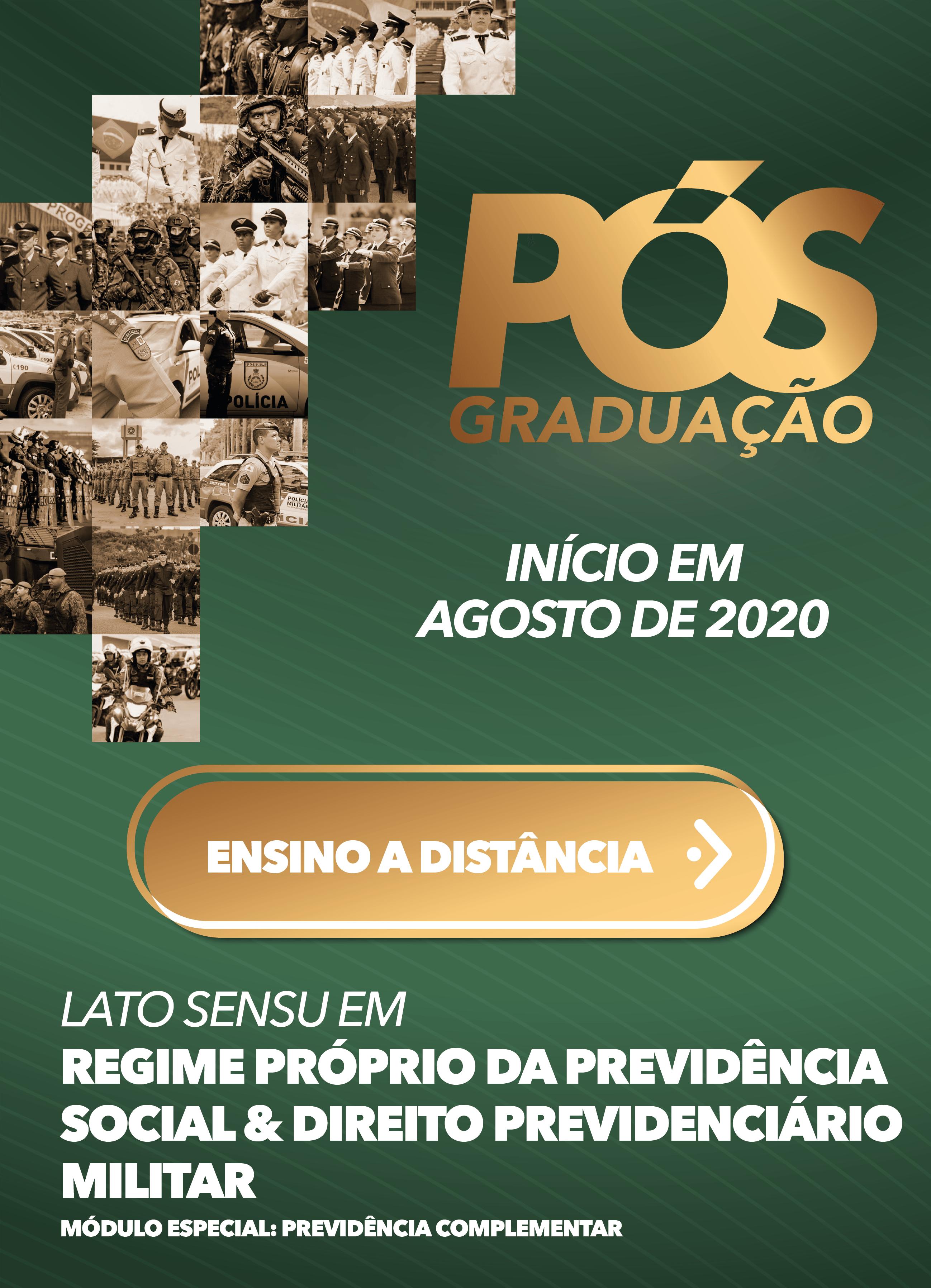 2020.2 - EAD - RPPS & DIREITO PREVIDENCIARIO MILITAR