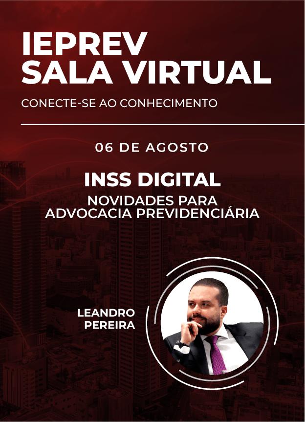 Sala Virtual - 06/08/2020   Leandro Pereira