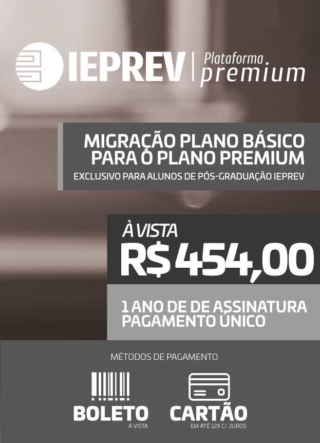 IEPREV Premium (Migração Pós-Graduação)
