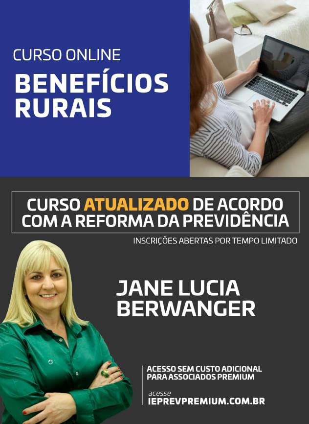 Curso online Benefícios Rurais - EC 103/2019