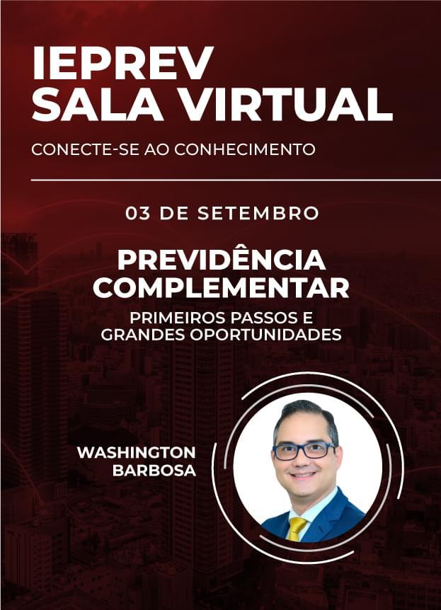 Sala Virtual - 03/09/2020   Washington Barbosa