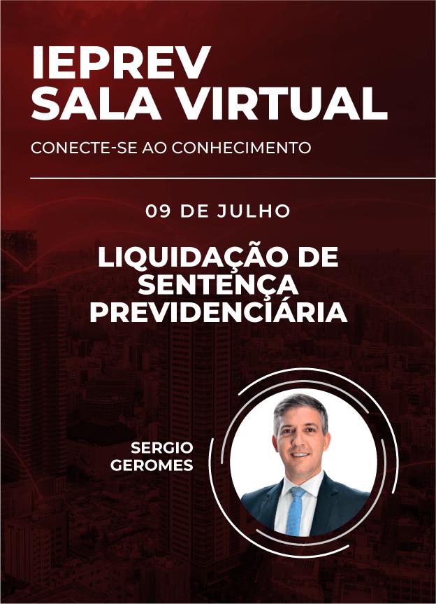 Sala Virtual - 09/07/2020   Sergio Geromes