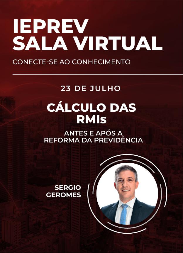 Sala Virtual - 23/07/2020   Sergio Geromes