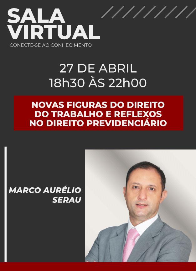 Sala Virtual - 27/04/2021 | Marco Aurélio Serau